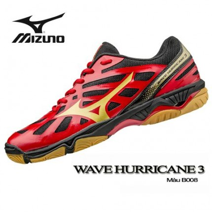 Giày Indoor WAVE HURRICANE 3 Đỏ