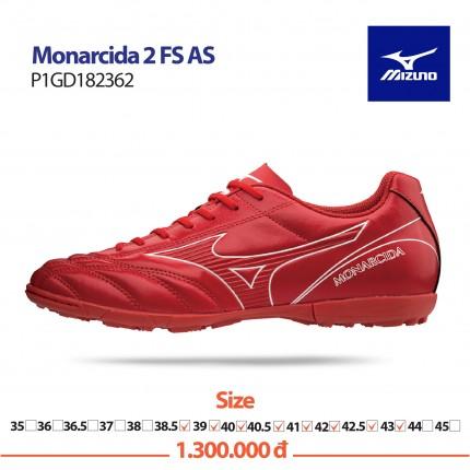 Giày bóng đá MONARCIDA 2 FS AS ĐỎ TRẮNG